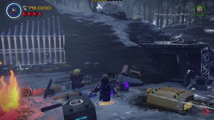 Lego Avengers gameplay