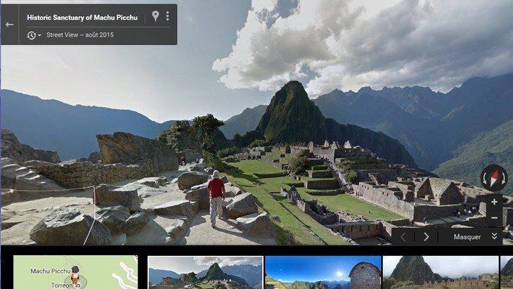 Machu Picchu Google Street View