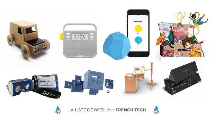 Le Noël de la French Tech te donne plein d'idées de cadeaux