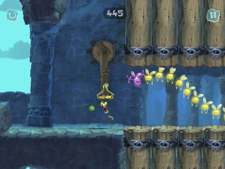 Rayman Adventures Gameplay