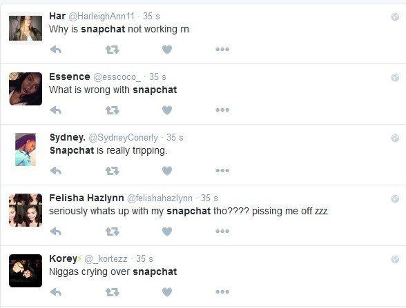 Snapchat down - Geek Junior -