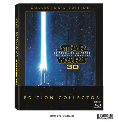 Star Wars Le Réveil de la Force - Blue-Ray 3D