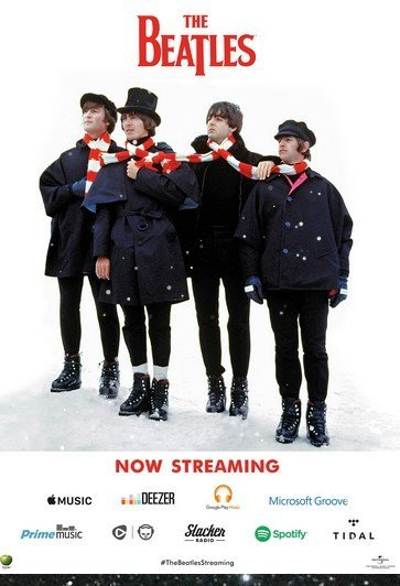 The Beatles en streaming