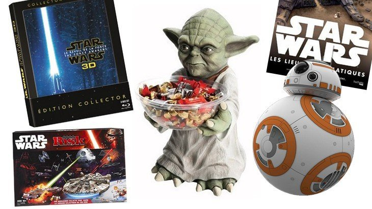 10 cadeaux Star Wars pour Noël !