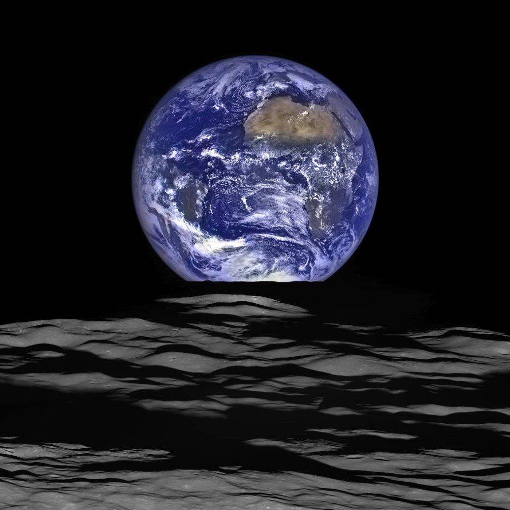 La Terre depuis la Lune