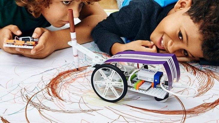 Avec les kits littleBits, l'électronique devient amusante et créative
