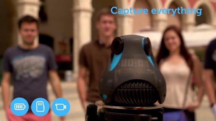 360cam Giroptic : une caméra géniale pour filmer à 360°