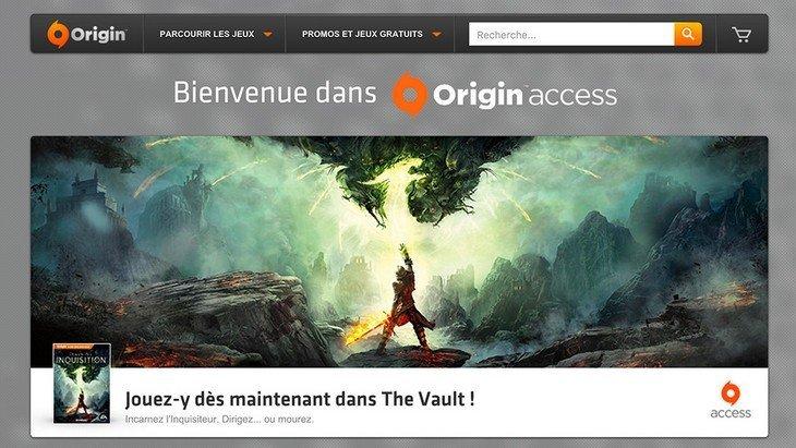 Origin Access EA dispo en France  ! 15 jeux PC par mois pour 3,99 euros