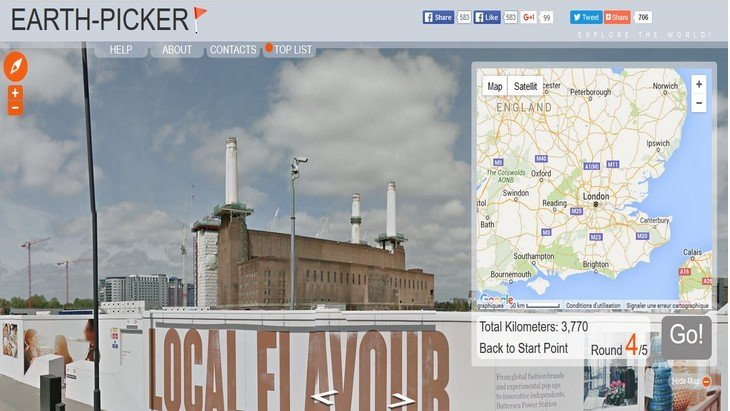 Earth-Picker, le jeu en ligne pour s'améliorer en géographie