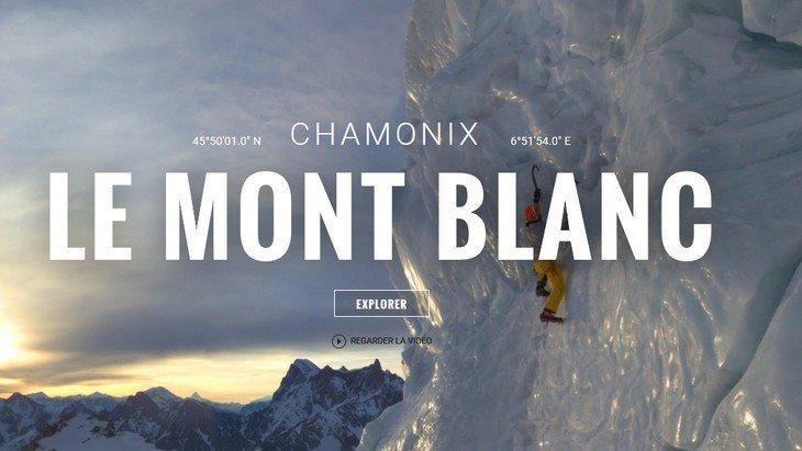 A l'assaut du Mont-Blanc avec Google dans une vidéo à 360° !