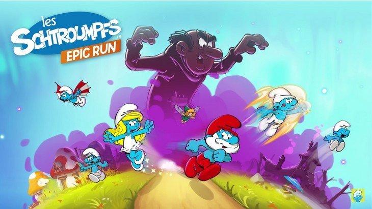 Les Schtroumpfs Epic Run sur Android et iPhone : un jeu schtroumpfant !