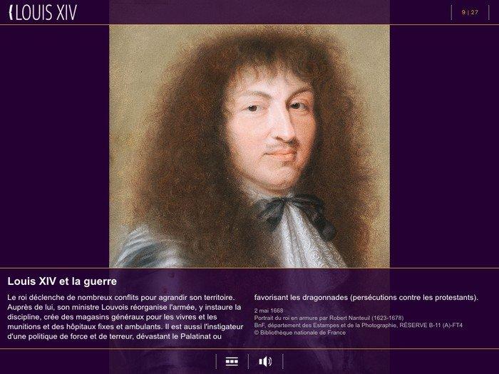 Louis XIV - BNF - vignettea