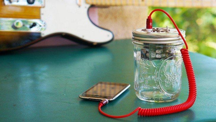 Gadget geek : Mason Jar Speaker, l'enceinte fun à construire soi-même !