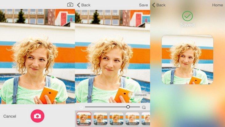 Microsoft Selfie : l'appli iPhone pour faire des selfies parfaits