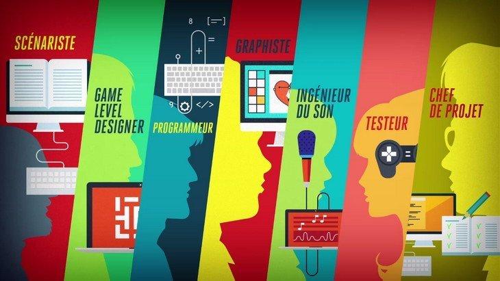 Orientation : quels sont les métiers du jeu vidéo ? Une vidéo t'explique tout !