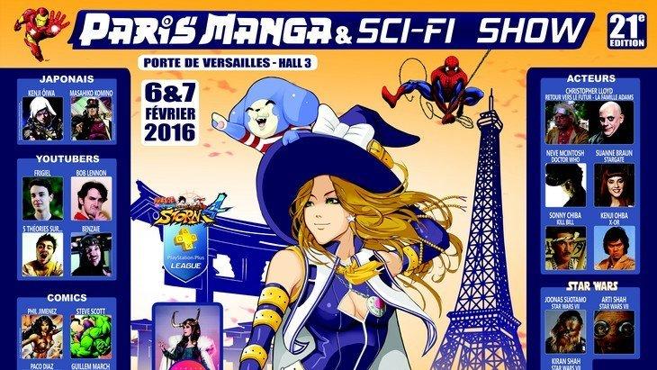 Paris Manga & Sci-Fi Show (6-7 février 2016) avec Christopher Lloyd