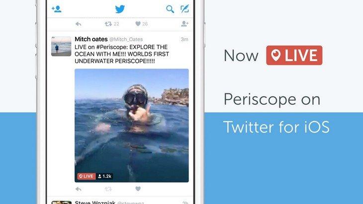 Diffuser tes vidéos en direct sur Twitter avec Periscope, c'est possible !