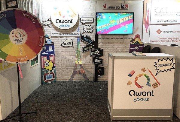 Qwant Junior au CES 2016