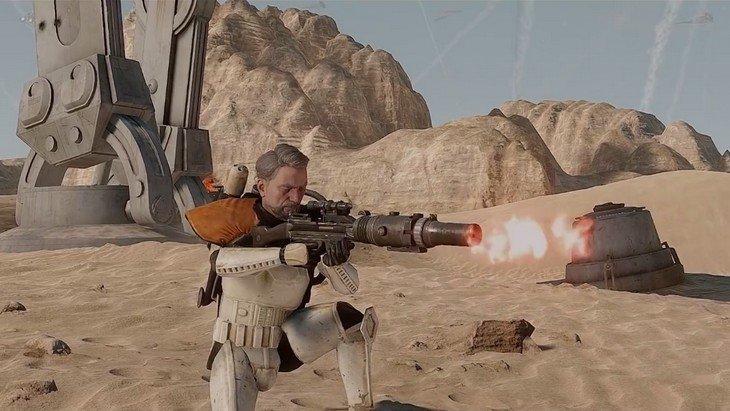 "Star Wars Battlefront est incroyable avec le mod ""Real Life"""