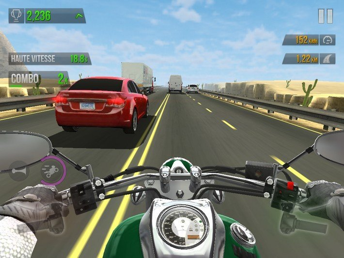 Traffic Rider gameplay