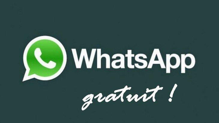 WhatsApp va vraiment devenir gratuit !