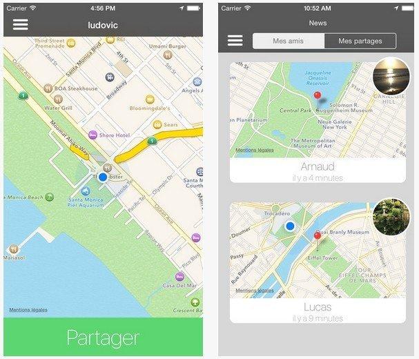 WhereApp screenshot