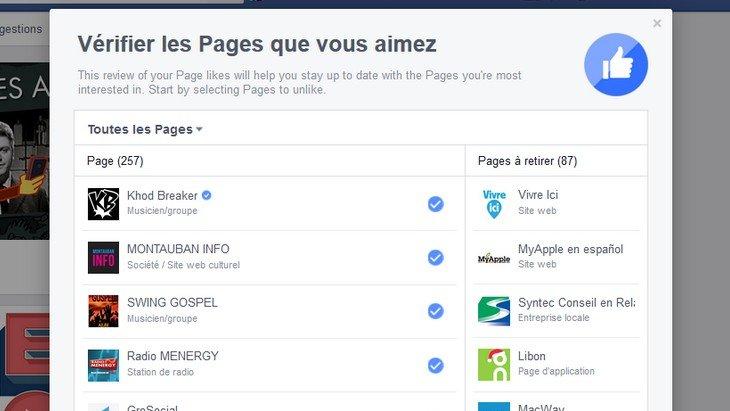 Astuce Facebook : comment se désabonner à des pages que tu ne veux plus suivre ?