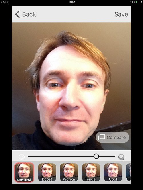exemple Microsoft Selfie