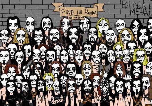 où est le panda métal