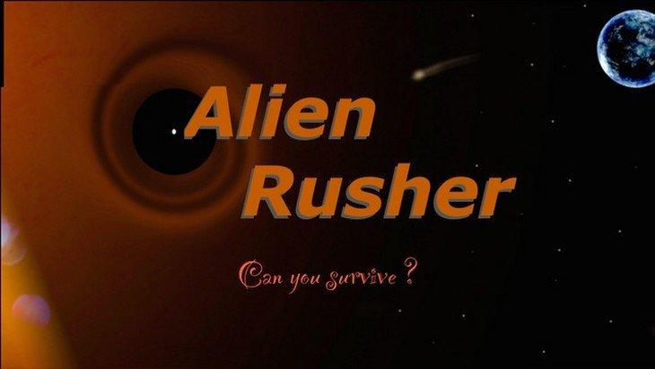 Alien Rusher, le premier jeu iPhone créé par Quentin, 15 ans