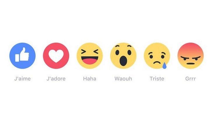 Waouh ou Grrr ?  Le bouton  «J'aime» n'est plus seul sur Facebook !