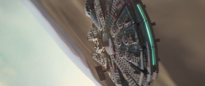 Lego Star Wars The force awakens vaisseau