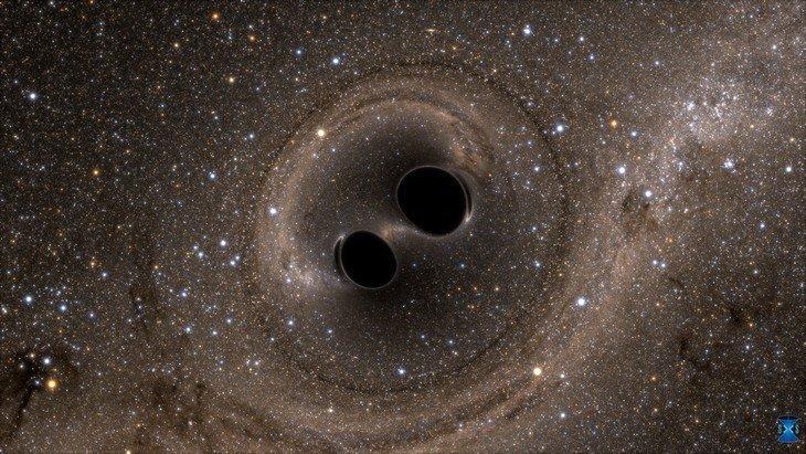 Transforme le son des ondes gravitationnelles en sonnerie pour téléphone