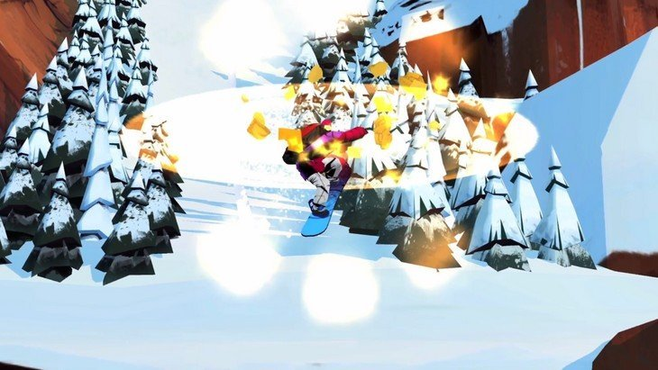 Snowboarding The Fourth Phase : le jeu 3D pour devenir le roi du snowboard