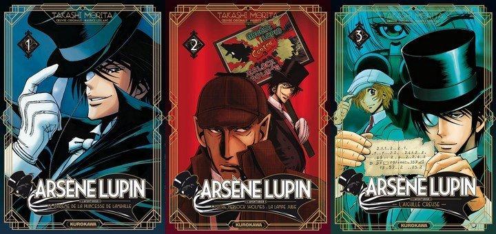 Arsène Lupin en manga