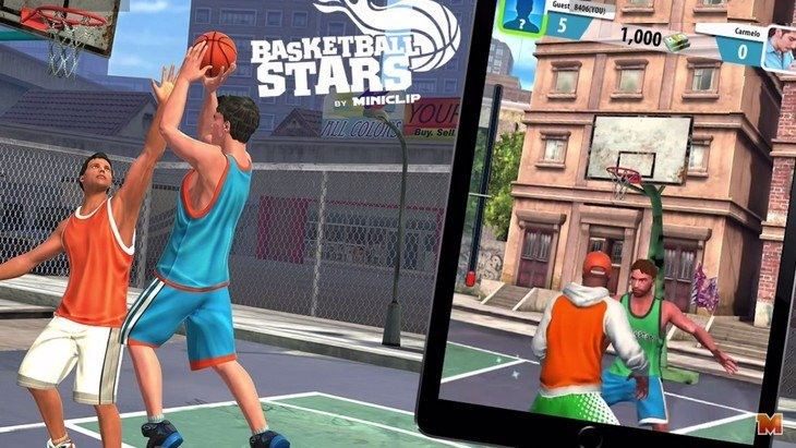 BasketBall Stars : un super jeu mobile pour devenir all-star (Android, iOS)