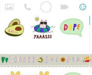stickers Snapchat
