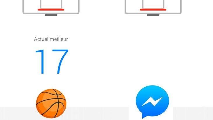 Un jeu de basket-ball se cache dans Facebook Messenger !