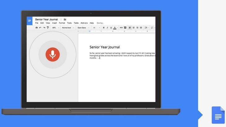 On a testé la saisie vocale sur Google Docs. Un sans faute ?