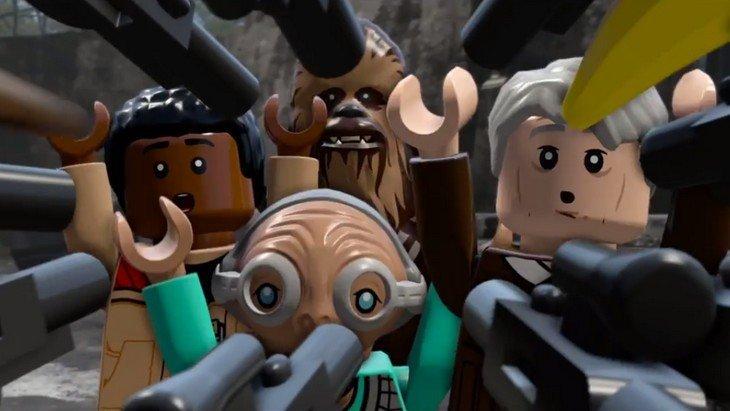 Une nouvelle vidéo de LEGO Star Wars: The Force Awakens !