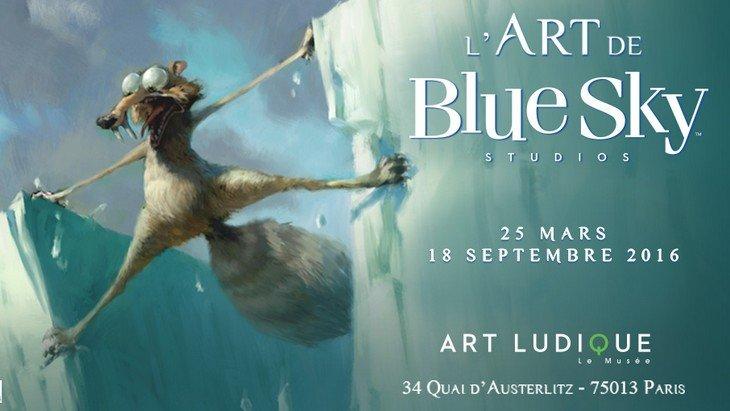 «L'Âge de Glace» et Blue Sky Studios au Musée Art Ludique à Paris