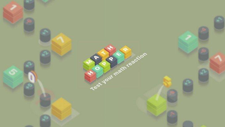 Math Hopper : un jeu mobile où il faut calculer plus vite que son ombre !