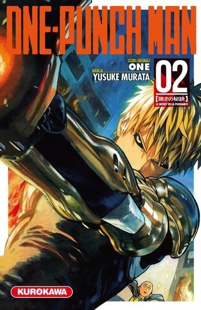 One-Punch Man T2 cover