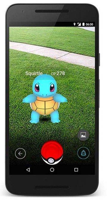 Pokemon Go réalité virtuelle