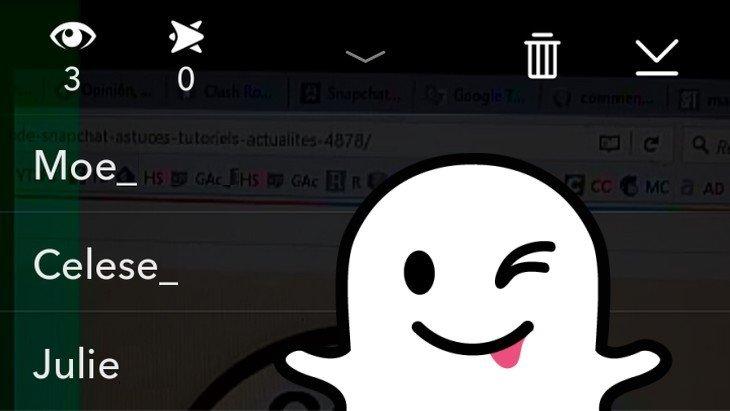 Astuce Snapchat : qui a vu ma story ?