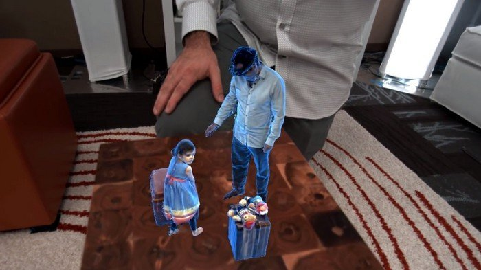 holoportation hololens enregistrement