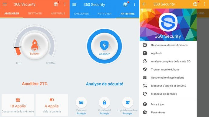 360 Security app Android