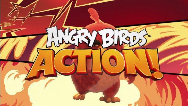 Angry Birds Action : le jeu débarque en attendant le film