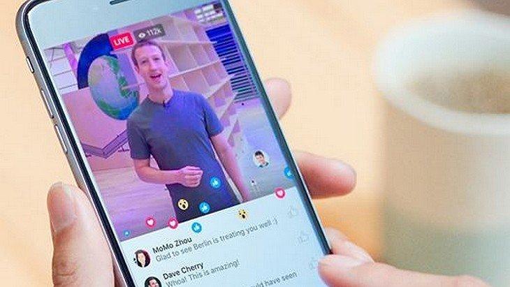 Ta vie en direct ? Facebook Live dispo sur ton téléphone