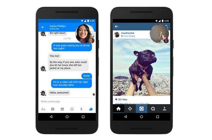 Facebook Messenger chat vidéo